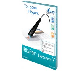 I.R.I.S. IRISPen Executive 7 Penna scanner Nero