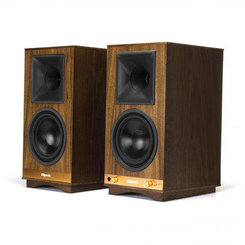 Klipsch The Sixes - Walnut 100 W Nero, Noce Con cavo e senza cavo 2