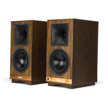 Klipsch The Sixes - Walnut 100 W Nero, Noce Con cavo e senza cavo