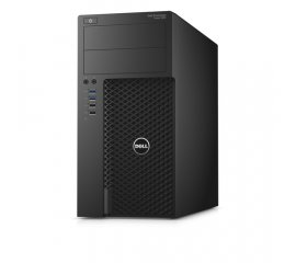 DELL Precision 3620 Intel® Xeon® E3 v5 E3-1240V5 8 GB DDR4-SDRAM 256 GB SSD Mini Tower Nero Stazione di lavoro Windows 7 Professional