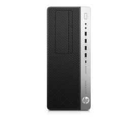 HP EliteDesk 800 G3 Intel® Core? i7 di settima generazione i7-7700 8 GB DDR4-SDRAM 256 GB SSD Tower Nero, Argento PC Windows 10 Pro