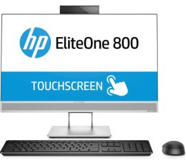 "HP EliteOne 800 G3 60,5 cm (23.8"") 1920 x 1080 Pixel Touch screen Intel® Core? i5 di settima generazione 8 GB DDR4-SDRAM 1000 GB HDD Wi-Fi 5 (802.11ac) Argento PC All-in-one Windows 10 Pro"