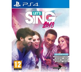 Deep Silver Let's Sing 2018 + 1 Mic (PS4) Basic PlayStation 4