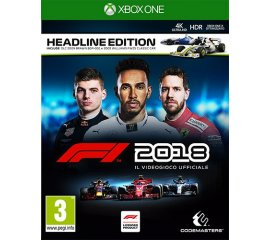 Codemasters F1 2018 - HEADLINE EDITION XONE videogioco Xbox One Basic