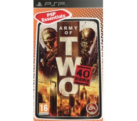Electronic Arts Army Of Two: The 40th Day Essentials Psp PlayStation Portatile (PSP) Basic ITA