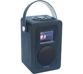 "PLAY R2 BLACK HELSINKI RADIO DAB+/FM C/DISPL.2,4"" 7Wrms BTOOTH BATT.RIC."
