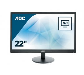 "AOC Basic-line E2270SWDN LED display 54,6 cm (21.5"") 1920 x 1080 Pixel Full HD Nero"