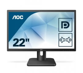"AOC Essential-line 22E1Q monitor piatto per PC 54,6 cm (21.5"") 1920 x 1080 Pixel Full HD LED Nero"