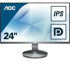 "AOC Value-line I2490VXQ/BT monitor piatto per PC 60,5 cm (23.8"") 1920 x 1080 Pixel Full HD LED Grigio"