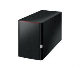 Buffalo LinkStation 220DR Armada 370 Collegamento ethernet LAN Desktop Nero NAS