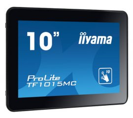 "iiyama TF1015MC-B2 monitor touch screen 25,6 cm (10.1"") 1280 x 800 Pixel Nero Multi-touch"