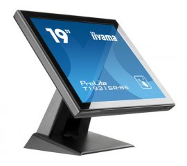 "iiyama ProLite T1931SR-B5 monitor touch screen 48,3 cm (19"") 1280 x 1024 Pixel Nero Single-touch"