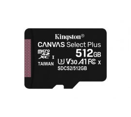 Kingston Technology Canvas Select Plus memoria flash 512 GB SDXC Classe 10 UHS-I