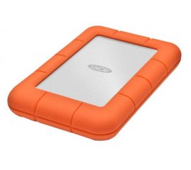 LaCie Rugged Mini, 2TB disco rigido esterno 2000 GB Alluminio, Arancione
