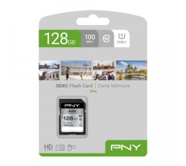 PNY Elite memoria flash 128 GB SDXC Classe 10 UHS-I