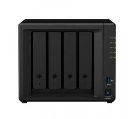 Synology DiskStation DS418 server NAS e di archiviazione RTD1296 Collegamento ethernet LAN Mini Tower Nero