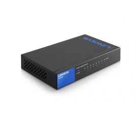 Linksys LGS108 Non gestito Gigabit Ethernet (10/100/1000) Nero