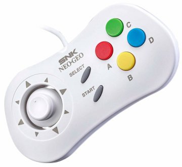 Just for Games Neo-Geo Mini Gamepad Bianco
