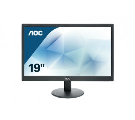 "AOC Basic-line E970SWN LED display 47 cm (18.5"") 1366 x 768 Pixel WXGA LCD Nero"