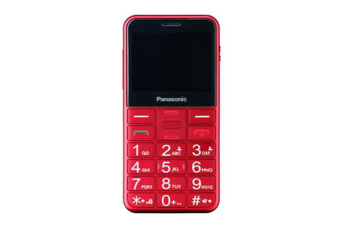 "KXTU150EXRN CELL.SENIOR DB 2.4"" BT V/VOCE ROSSO e' ora in vendita su Radionovelli.it!"