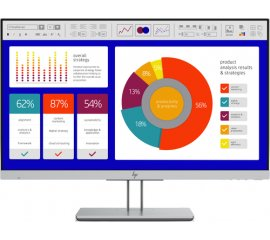 "HP EliteDisplay E243p 60,5 cm (23.8"") 1920 x 1080 Pixel Full HD LED Nero, Argento"