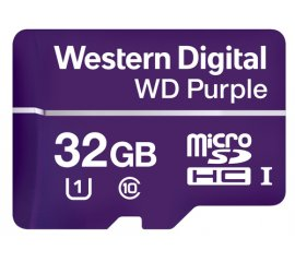 Western Digital Purple memoria flash 32 GB MicroSDHC Classe 10