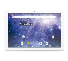 "Mediacom SmartPad M-SP1EY4G tablet 25,6 cm (10.1"") Spreadtrum 2 GB 16 GB Wi-Fi 4 (802.11n) 4G LTE-FDD Bianco Android 9.0"