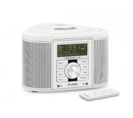 Pure Chronos CD Series II docking station con altoparlanti 2.0 canali 5 W Bianco