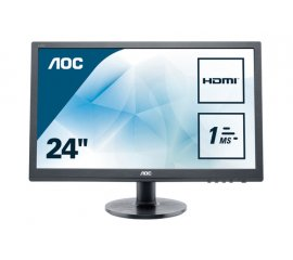 "AOC Essential-line E2460SH monitor piatto per PC 61 cm (24"") 1920 x 1080 Pixel Full HD LCD Nero"