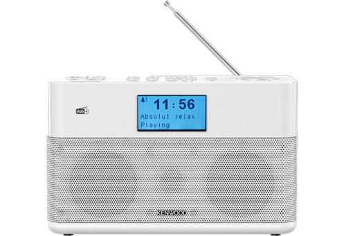 Kenwood CR-ST50DAB-W radio Portatile Analogico e digitale Bianco e' ora in vendita su Radionovelli.it!