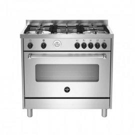 Bertazzoni La Germania Americana AMN965GXT cucina Piano cottura Acciaio inossidabile Gas A+ e' ora in vendita su Radionovelli.it!