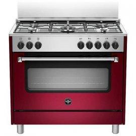 Bertazzoni La Germania Americana AMN965EVIV cucina Piano cottura Rosso Gas A e' ora in vendita su Radionovelli.it!