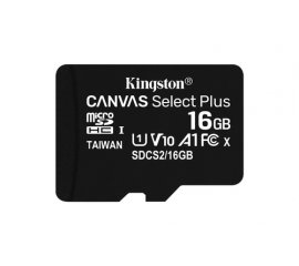 Kingston Technology Canvas Select Plus memoria flash 16 GB MicroSDHC UHS-I Classe 10
