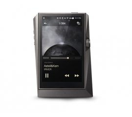 Astell&Kern AK380 Lettore MP4 256 GB Nero, Titanio