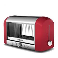 11528IT  TOASTER ROUGE Magimix