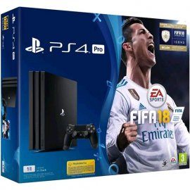 SONY PS4 PRO 4K HDR 1TB + FIFA 2018 LIMITED EDITIO venduto su Radionovelli.it!