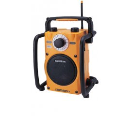 U1 RUGGED RADIO CANTIERE FM/AM ULTRA BASS 7W CL.D 6x1,5v D