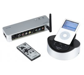 Marantz IS301 iPod Dock Nero, Argento