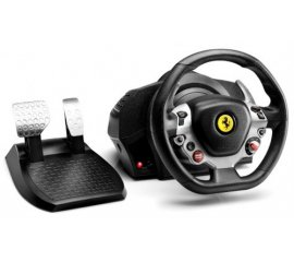 THRUSTMASTER TX RACING WHEEL FERRARI 458 VOLANTE + PEDALI ACCELERATORE E FRENO IN METALLO LEVE CAMBIO SEQUENZIALI FORCE FEEDBACK