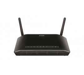 D-LINK DSL-2750B ROUTER Adsl2/2+ WIRELESS 300MBPS 4 LAN RJ-45 USB NERO