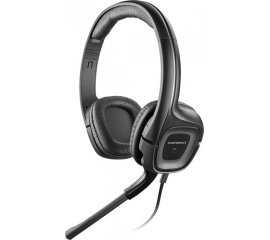 PLANTRONICS AUDIO 355 CUFFIE CON MICROFONO PER PC 2 JACK 3,5MM NERO