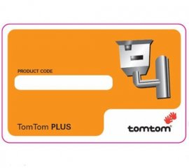 TomTom Safety Camera Scrath Card