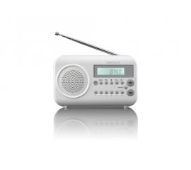 Lenco MPR-033 radio Portatile Digitale Bianco