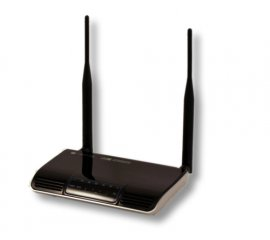 Techly I-WL-ADSL-300T router wireless Dual-band (2.4 GHz/5 GHz) Fast Ethernet