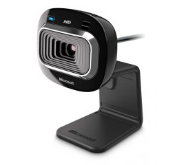 MICROSOFT LIFECAM HD-3000 WEB CAM HD 720p 30FPS 4X NERO