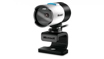 Microsoft LifeCam Studio webcam 1920 x 1080 Pixel USB 2.0 Nero, Argento