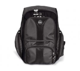 "KENSINGTON CONTOUR BACKPACK ZAINO PER NOTEBOOK DA 16"" IN NYLON BALISTICO NERO GARANZIA ITALIA (1500234K)"