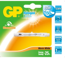 GP Lighting 047568-HLME1 lampadina alogena 120 W R7s Bianco caldo D