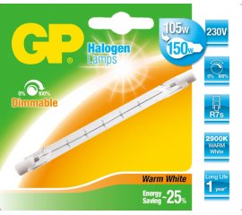 GP Lighting 047575-HLME1 lampadina alogena 120 W R7s Bianco caldo D