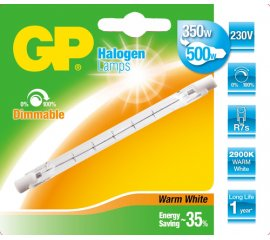 GP Lighting 047605-HLME1 lampadina alogena 400 W R7s Bianco caldo D